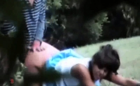 cute-brunette-girlfriend-gets-rammed-doggystyle-in-the-park