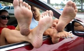 two-sensual-amateur-girls-expose-their-sexy-feet-in-public
