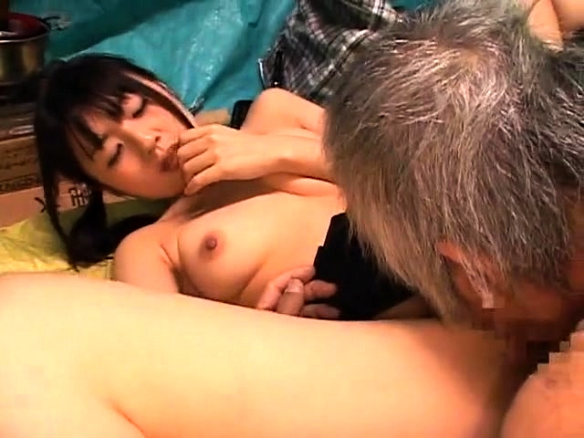 Old Man Seduced Teen Big Tits