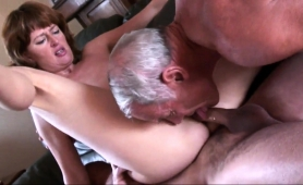 kinky-old-man-shares-his-busty-redhead-wife-with-a-friend