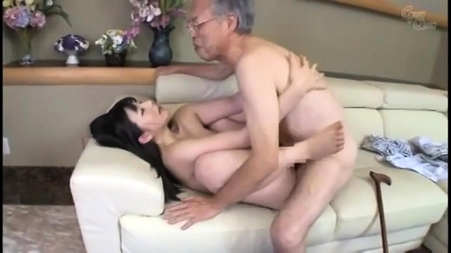 Teen seduces old man to fuck think