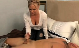 exciting-blonde-babe-with-glasses-brings-a-cock-to-orgasm