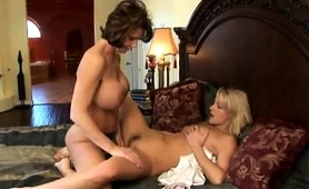 stacked-mom-fucks-a-pretty-blonde-teen-with-a-strap-on-dildo