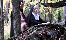 horny-nun-enjoys-an-intense-doggystyle-drilling-in-the-woods