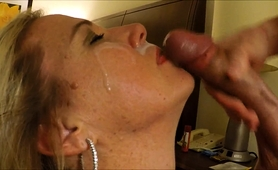 stunning-mature-blonde-gets-her-face-covered-in-hot-semen